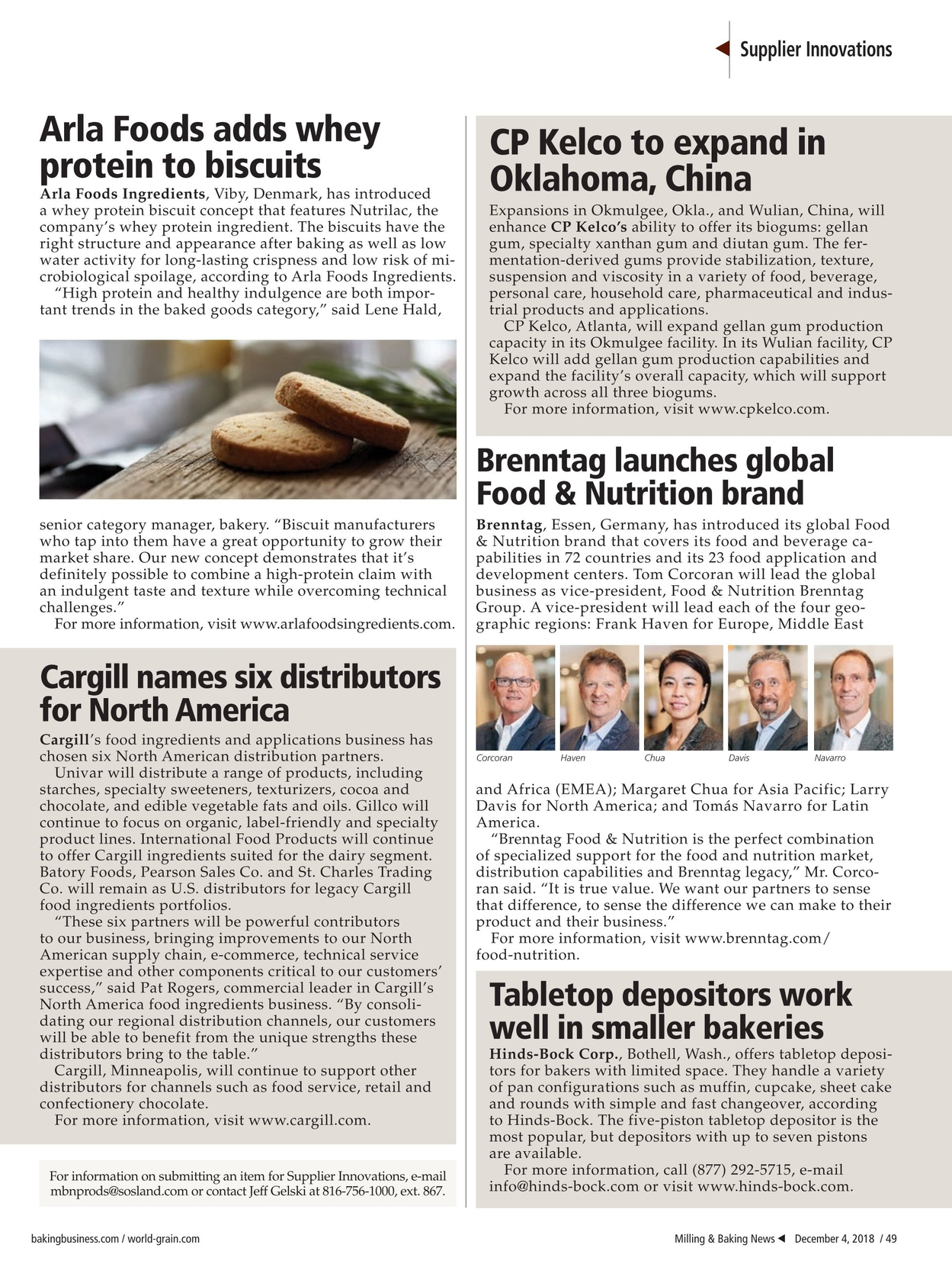 Milling & Baking News - December 4, 2018