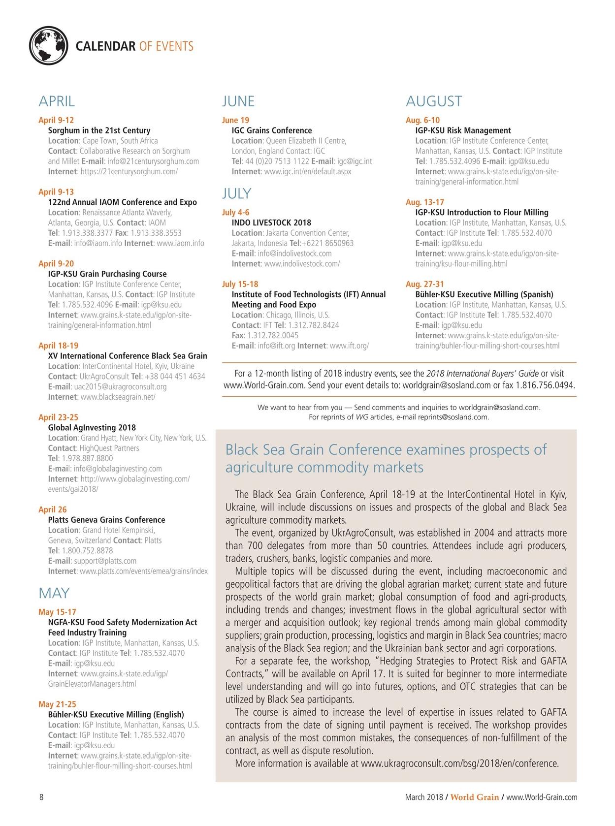 Platts Pricing Index