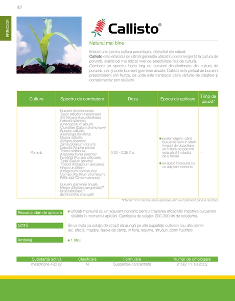 RO Syngenta Catalog culturi camp 2014
