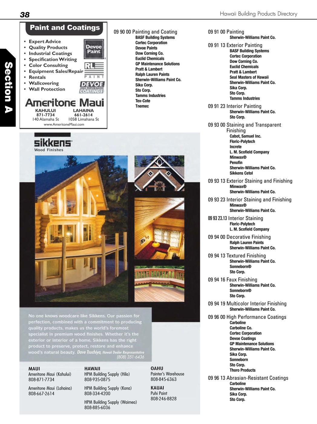 Hawaii Building Products Directory 2012-2013
