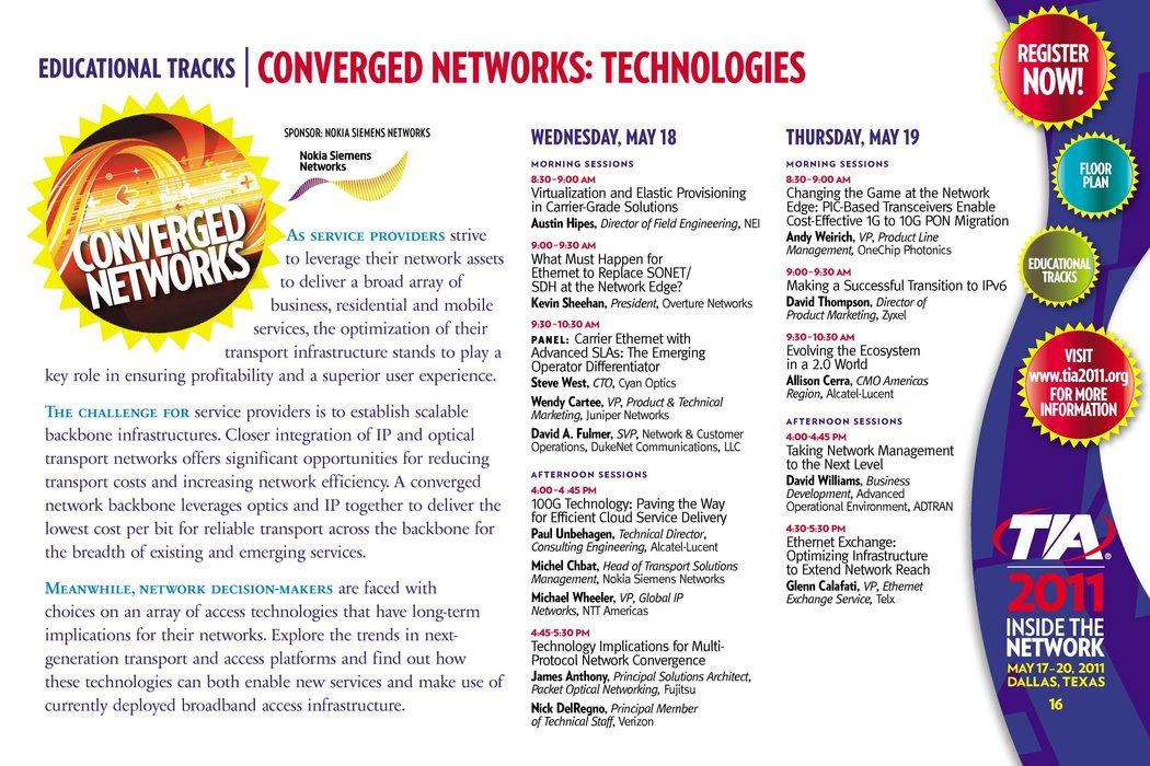 TIA 2011 Conference Brochure