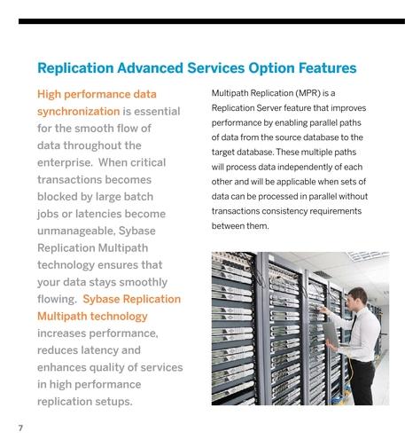 Sybase - Replication Server ASO