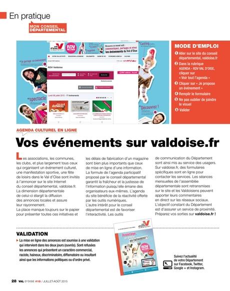 Val Doise Le Magazine Du Conseil Général N18 Juillet