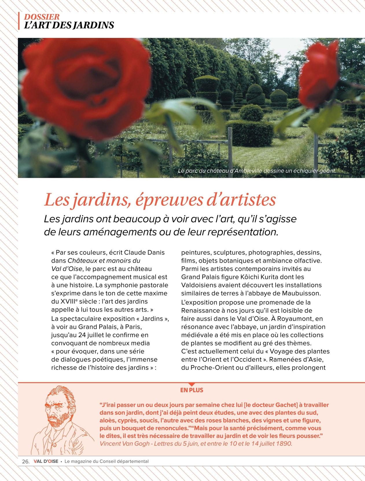Val D Oise Le Magazine Du Conseil Departemental N 12
