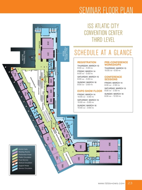 Iss Atlantic City 2014 Show Directory