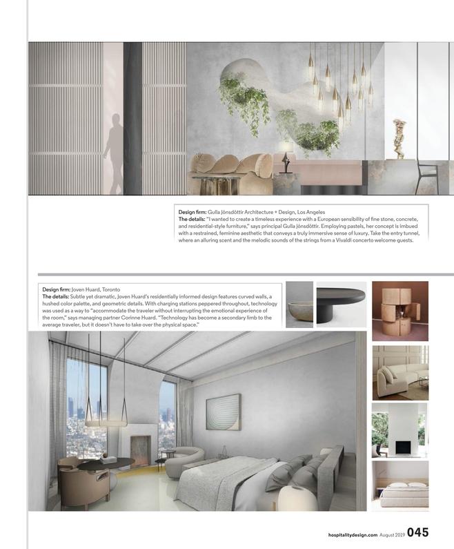 Hospitality Design August 2019