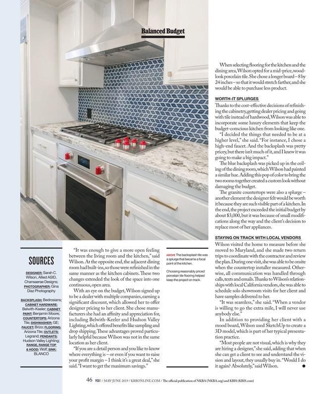 Kitchen Bath Business May June 2019