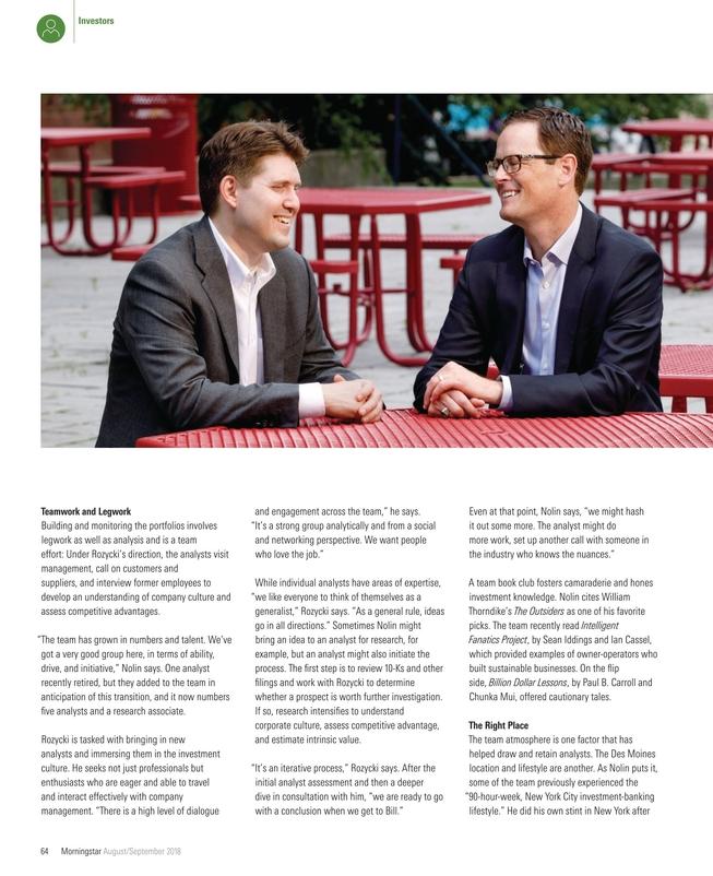 Morningstar Magazine August September 2018