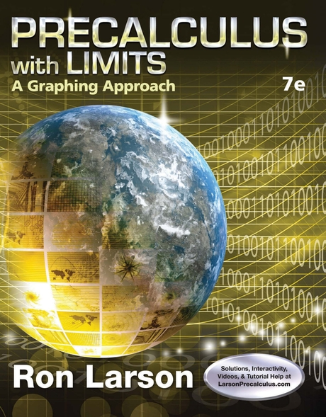 Precalculus With Limits 7th Edition