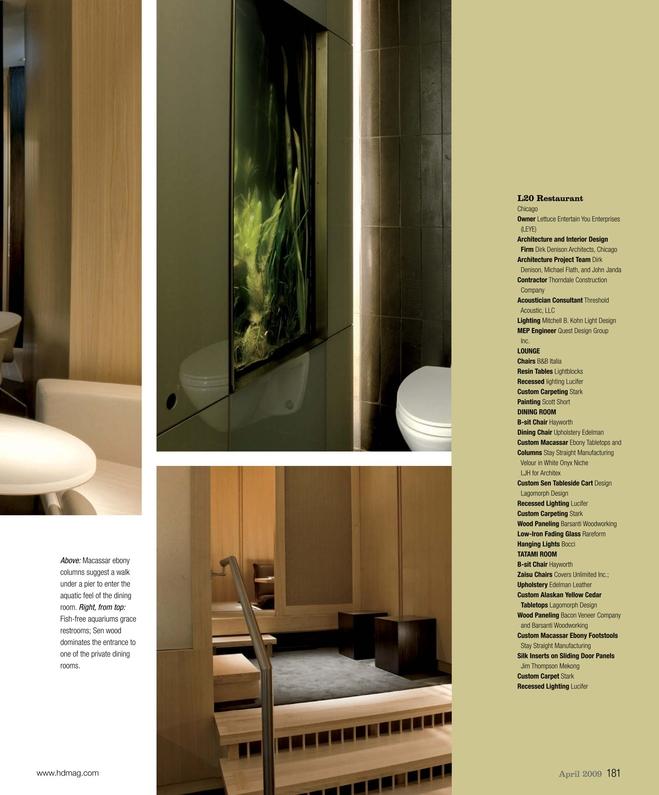 Hospitality Design April 2009