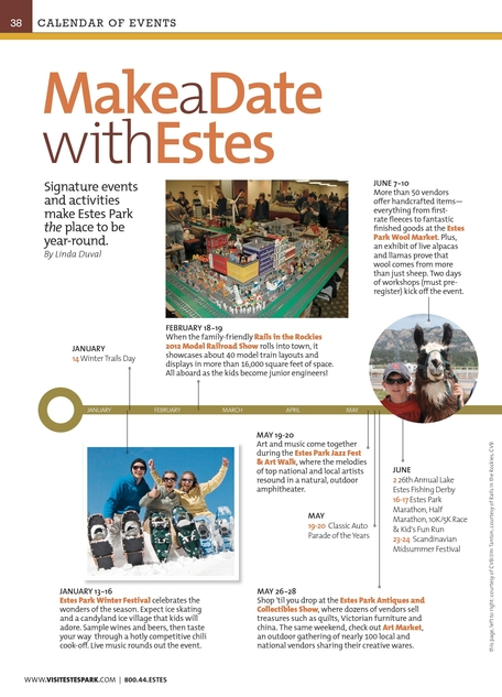 Estes Park 2012 Official Visitor Guide