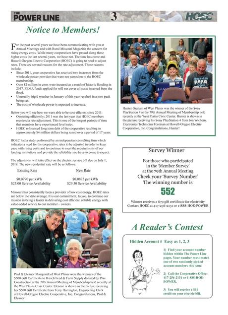 The Power Line / Rural Missouri - June 2018 issue | HOECoop.org ...