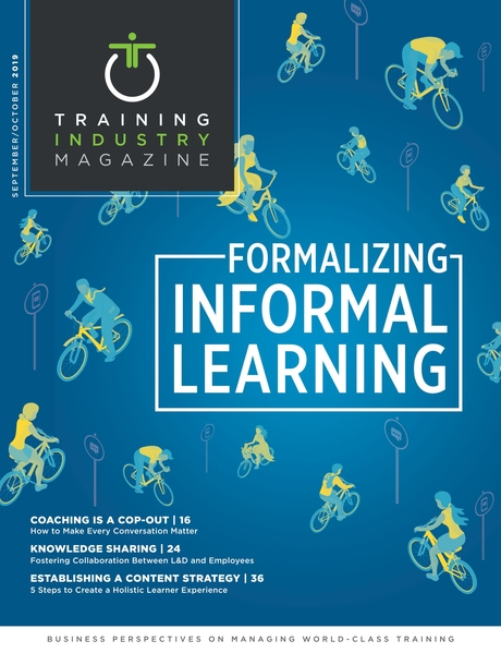 Training Industry Magazine - September/October 2019
